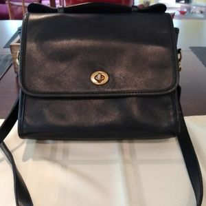 Vintage Coach Court handbag